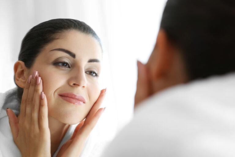 Collagen improves skin.