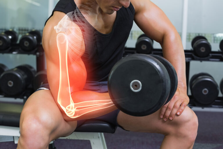 Collagen prevents bone loss. Work out